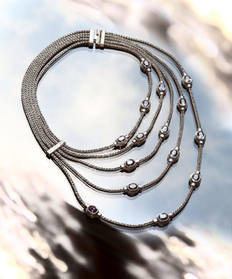 Колье, серебро 925