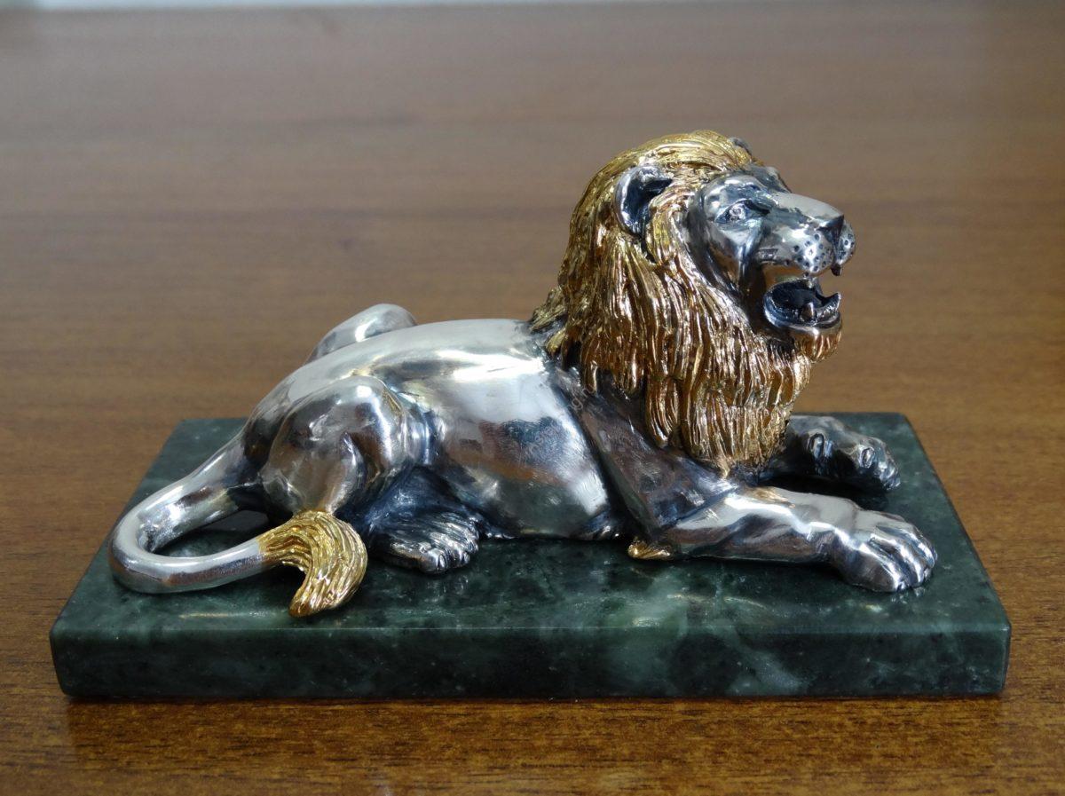 Лев с золотой гривой 1 — копия